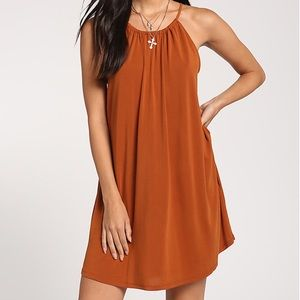 Dresses & Skirts - ♡ Boutique Fall Rust Orange Thanksgiving Dress